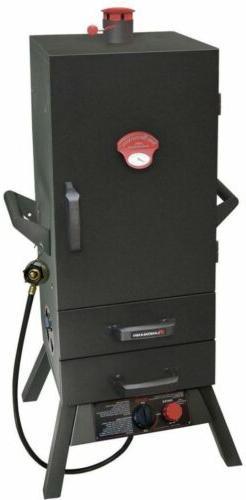 Landmann Outdoor Cooking Grill Smoker 34 in Vertical Propane