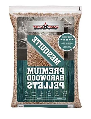 bag hardwood mesquite pellets