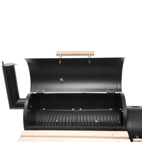 Barbecue Charcoal wheels Smoker Barrel Party