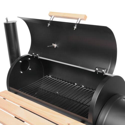 Barbecue Smoker Offset Barrel Party