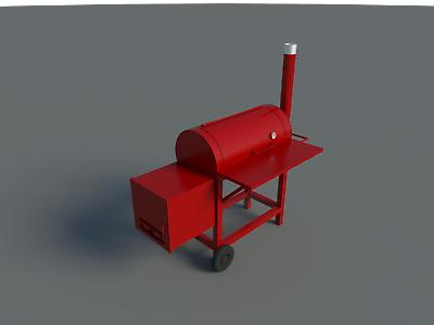 BBQ Smoker Plans DIY Portable Camping Cooker