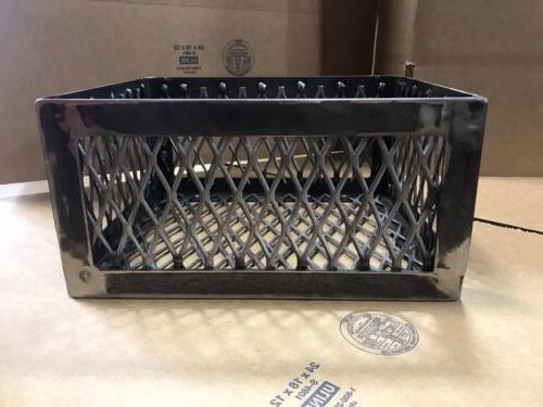 bbq smoker wood charcoal basket fire box