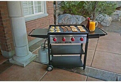 Camp Chef Shelf Propane Gas 4-Burner