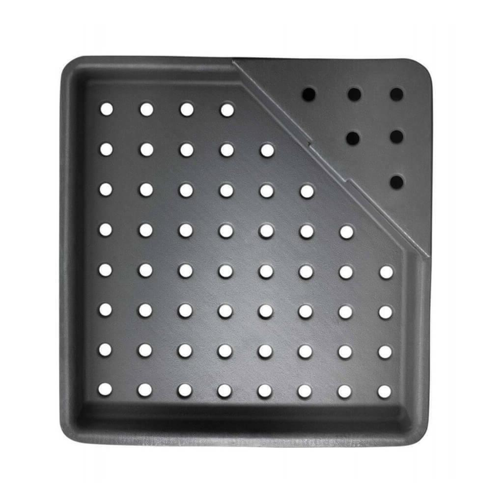 cast iron charcoal tray grill