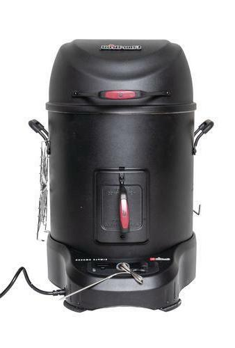 char broil electric smoker roaster smartchef tech