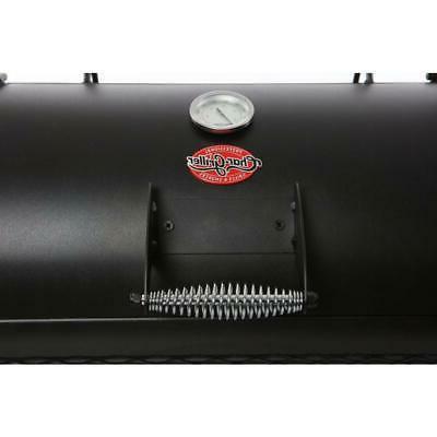 Char-Griller Adjustable Smokestack