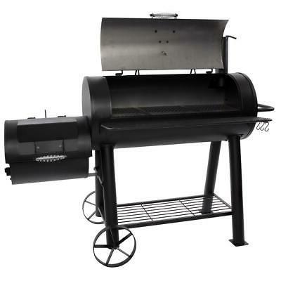 Char-Griller 1012 sq in. Built-in Adjustable Smokestack