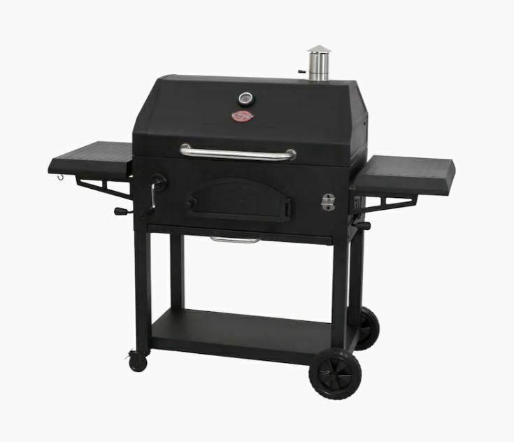 Char-Griller Charcoal Grill area