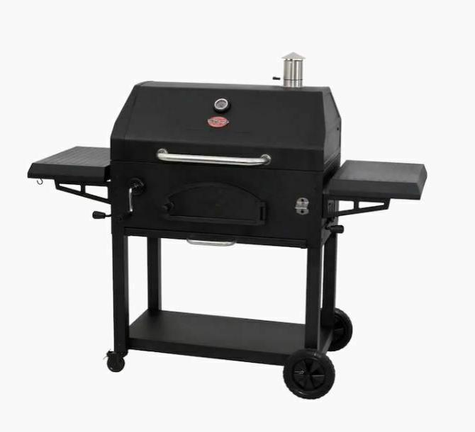 Char-Griller 33-in Charcoal