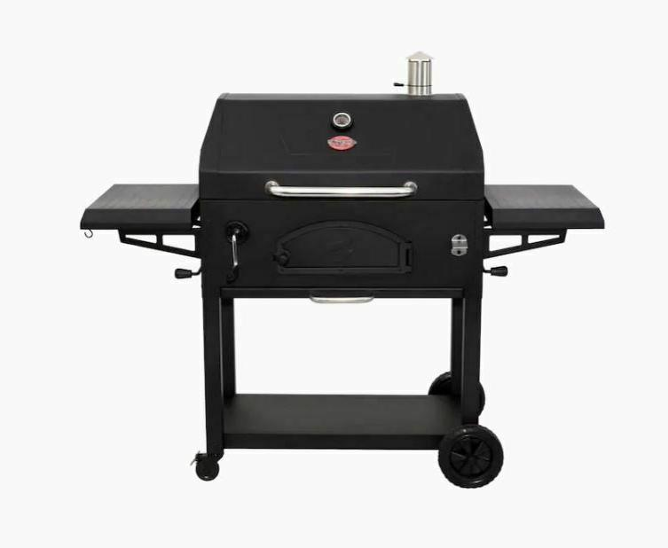 char griller legacy 33 in black charcoal
