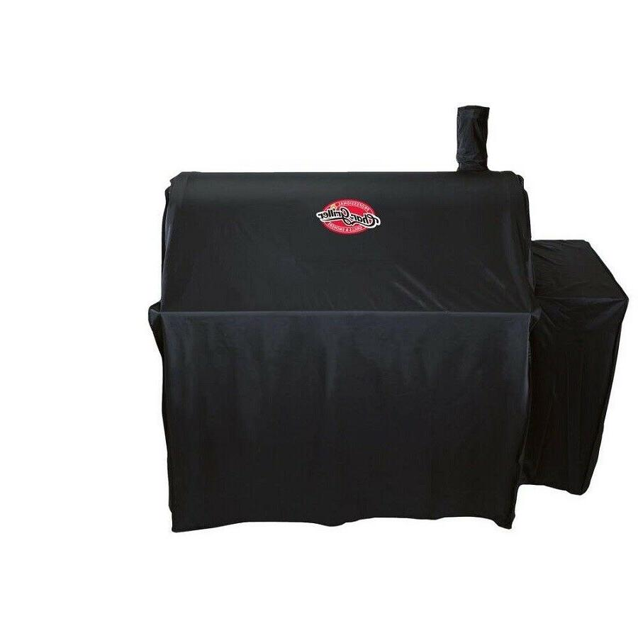 Char-Griller Outlaw Grill Cover Black Vinyl BBQ 3737 Smoker