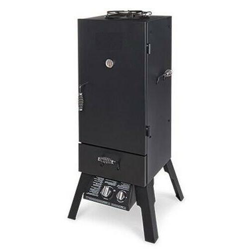charbroll vertical liquid propane gas smoker
