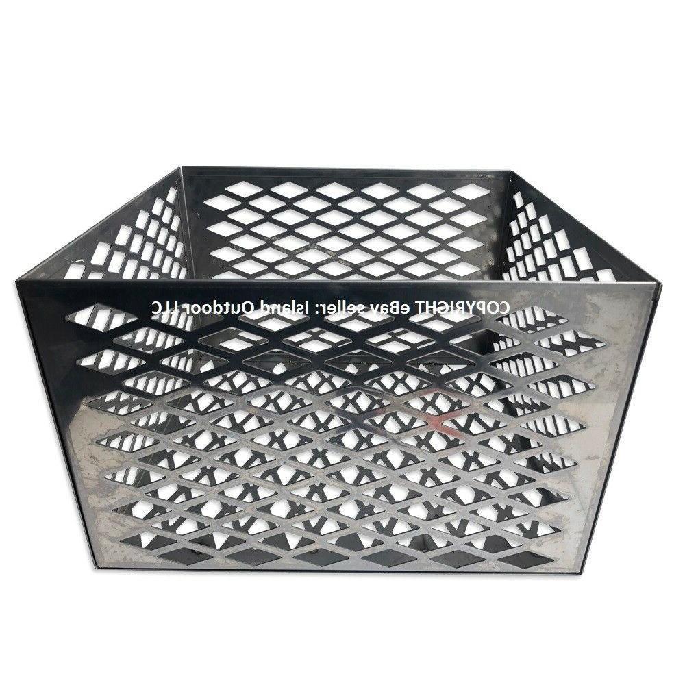 charcoal basket fire box oklahoma joe longhorn
