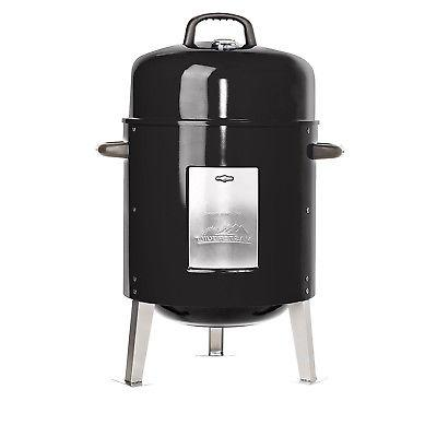 Charcoal Bullet Smoker Barbecue BBQ Grill Outdoor Vertical P