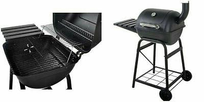 charcoal grill 26 barrel bbq smoker barbecue