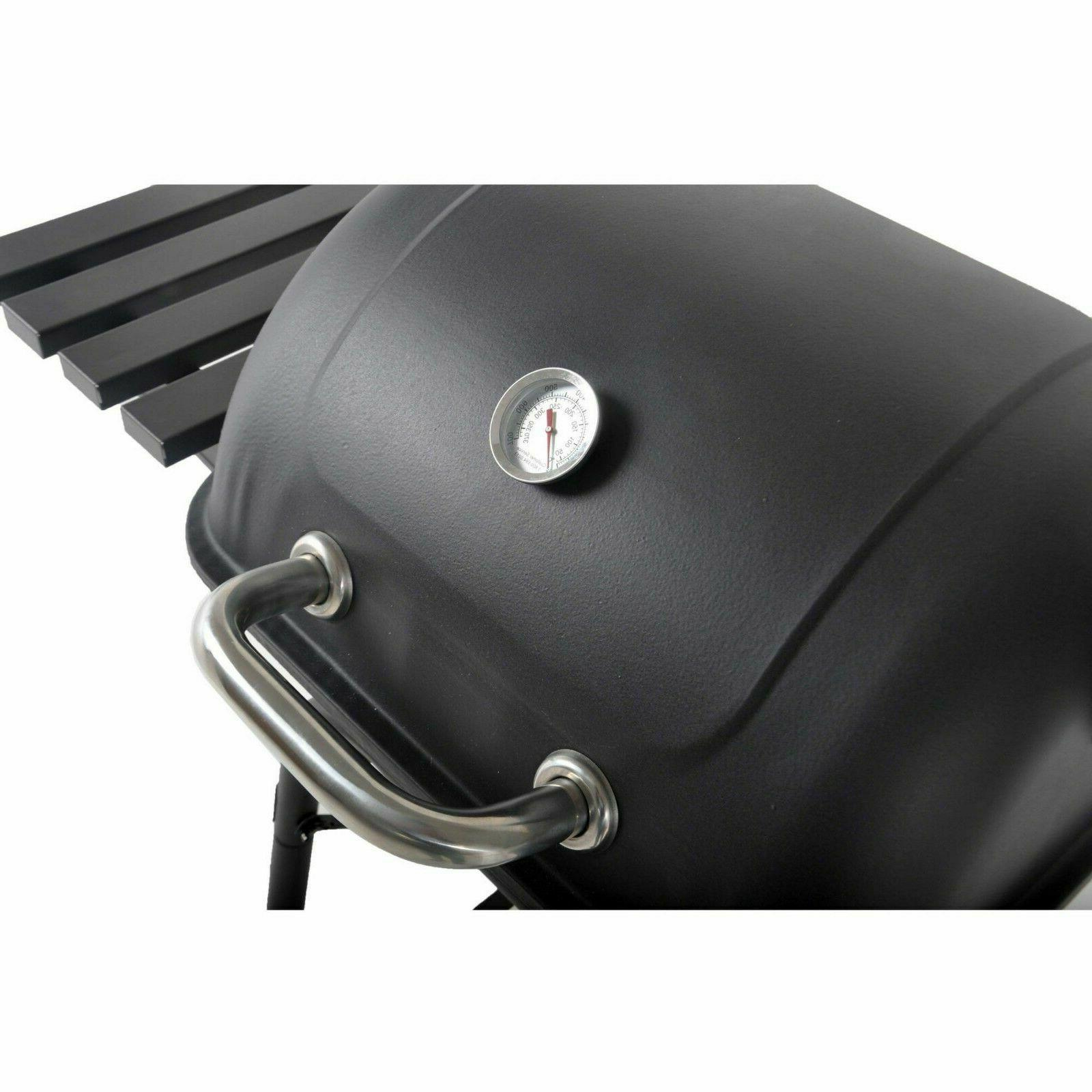 Charcoal Grill BBQ Smoker Backyard Outdoor Cooking