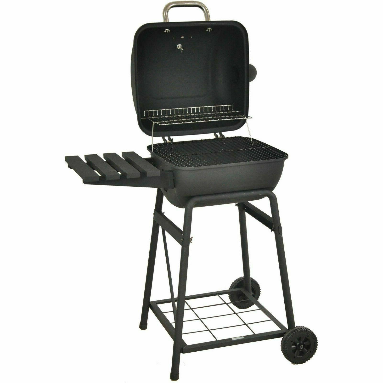 "Charcoal 26"" Barrel BBQ Backyard Outdoor"