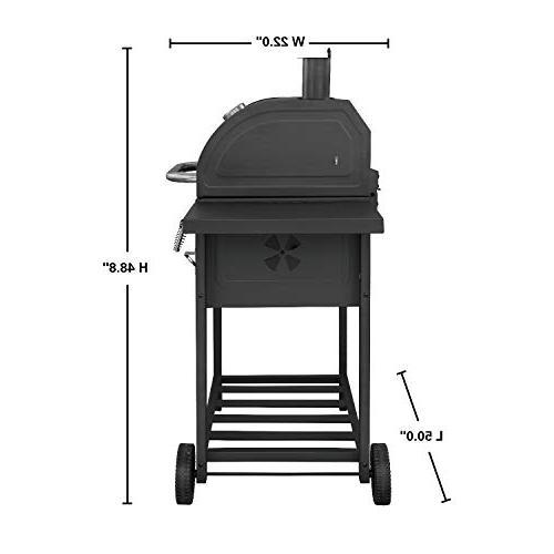 Royal Gourmet 24 Inch Charcoal Grill,BBQ Camping,