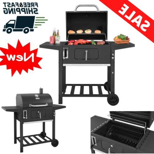 charcoal grill bbq patio backyard