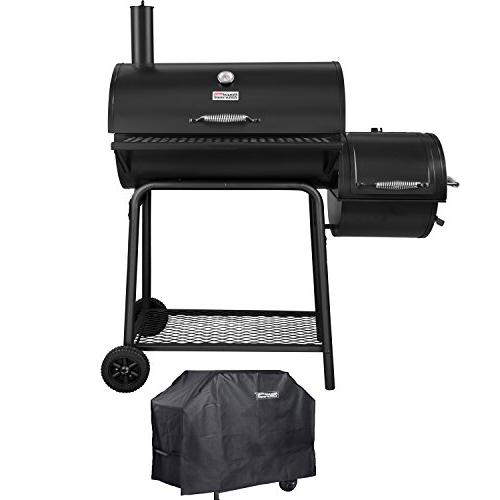 charcoal grill offset smoker