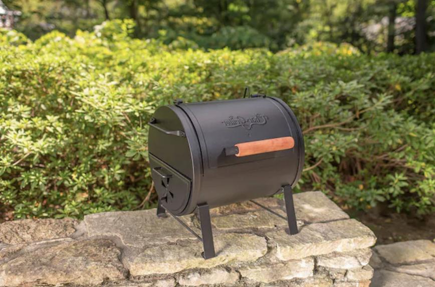 Charcoal Grill 250-sq in Black Stable