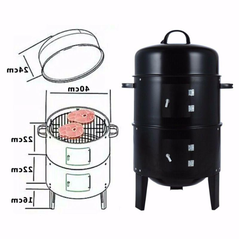3 1 Charcoal Roaster Water BBQ