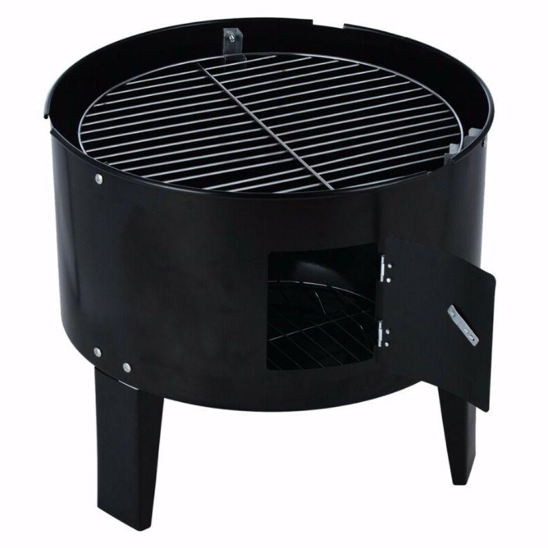 Charcoal Water Grill Outdoor Barbecue Cooker Backyard