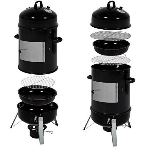 Best Products 3-Piece BBQ Charcoal Black