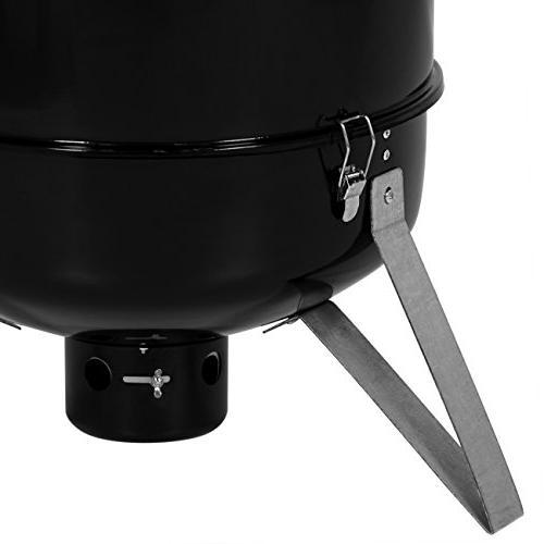 Best Products 3-Piece BBQ Vertical Black