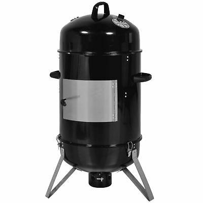 cooking bbq charcoal vertical smoker