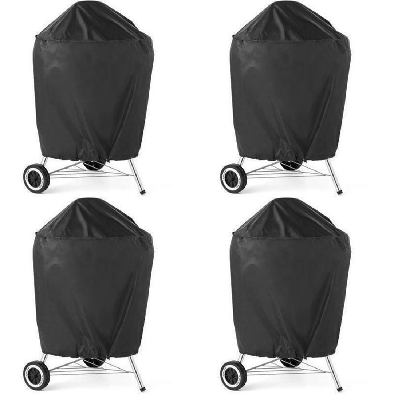 Expert Grill Cover Kettle Smoker Strong Outdoor Black