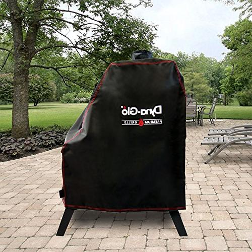Dyna-Glo DG1176CSC Offset Charcoal Smoker Cover,