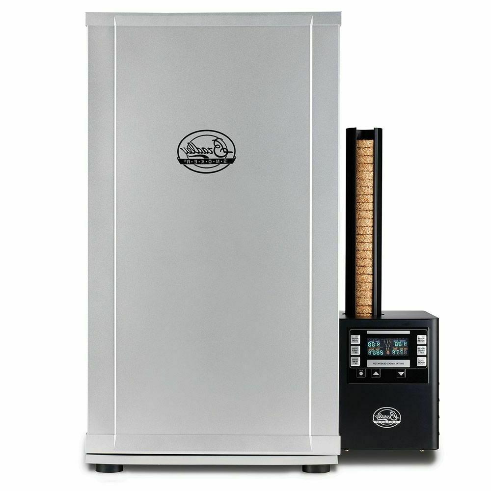 digital 4 rack electric meat food smoker