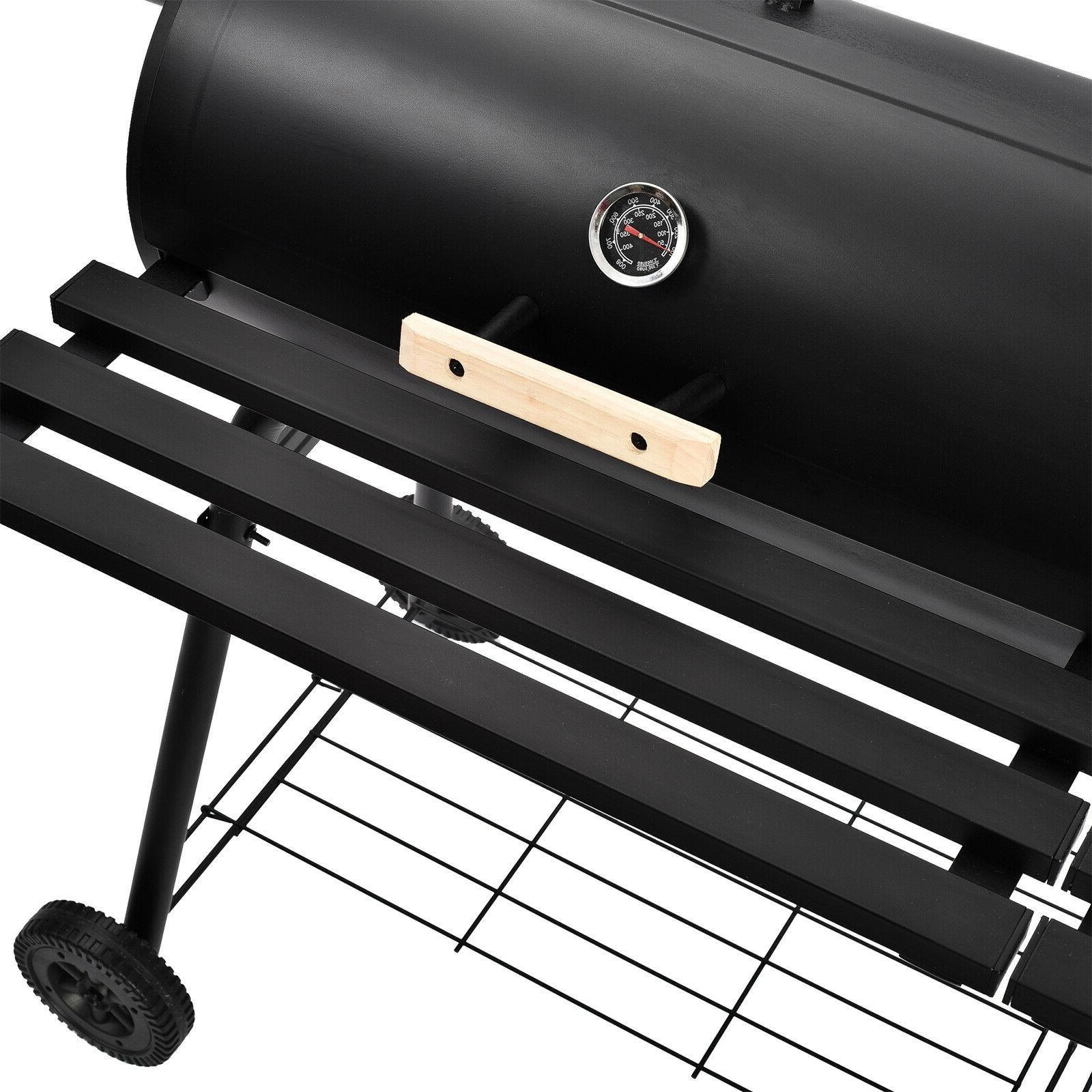 "68"" Outdoor BBQ Grill Charcoal Pit Backyard"