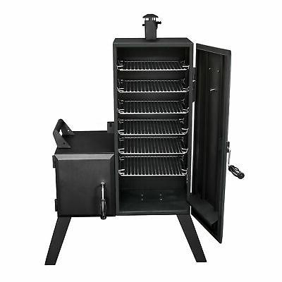 Dyna-Glo Door Vertical Charcoal Offset BBQ