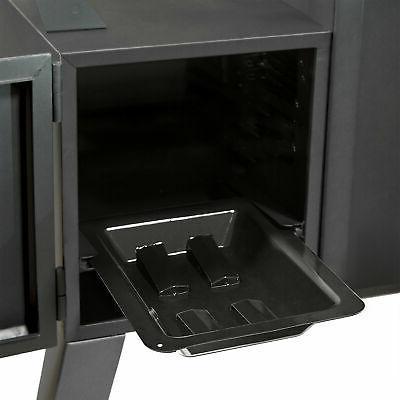 Dyna-Glo DGO1176BDC-D Steel Double Door Vertical Charcoal BBQ