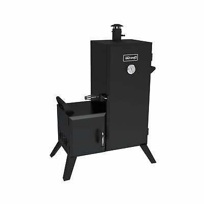 Dyna-Glo DGO1176BDC-D Vertical Offset Charcoal Smoker Black