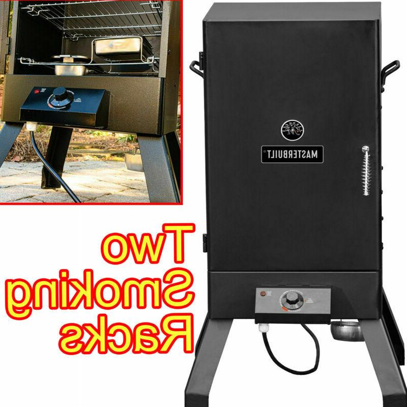 ELECTRIC FOOD SMOKER COOKER OVEN BBQ GRILL OUTDOOR PATIO DEC
