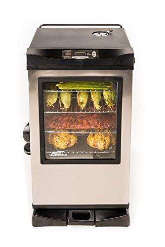 electric smokehouse bsw w window