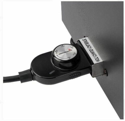Electric Smoker 26-Inch Steel Watt Heating