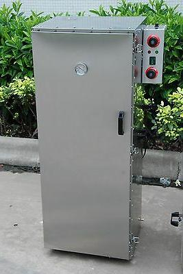 electric stainless steel smoker barbecue bbq grill