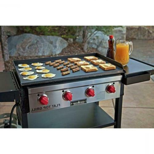 Camp Top BBQ Grill Lawn Garden Backyard Party