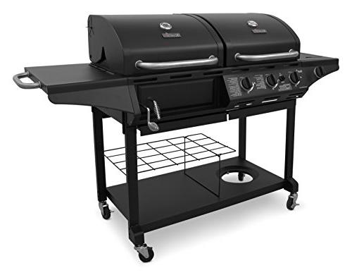 Char-Broil Combination Gas Grill 463714514 3 Elements Chrome