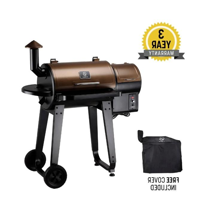 gas grill smoker combo wood pellet free