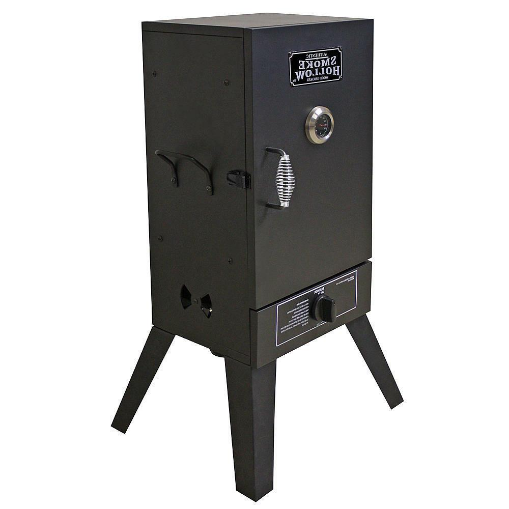 Gas Propane Vertical Wood Burner Meat Smoke