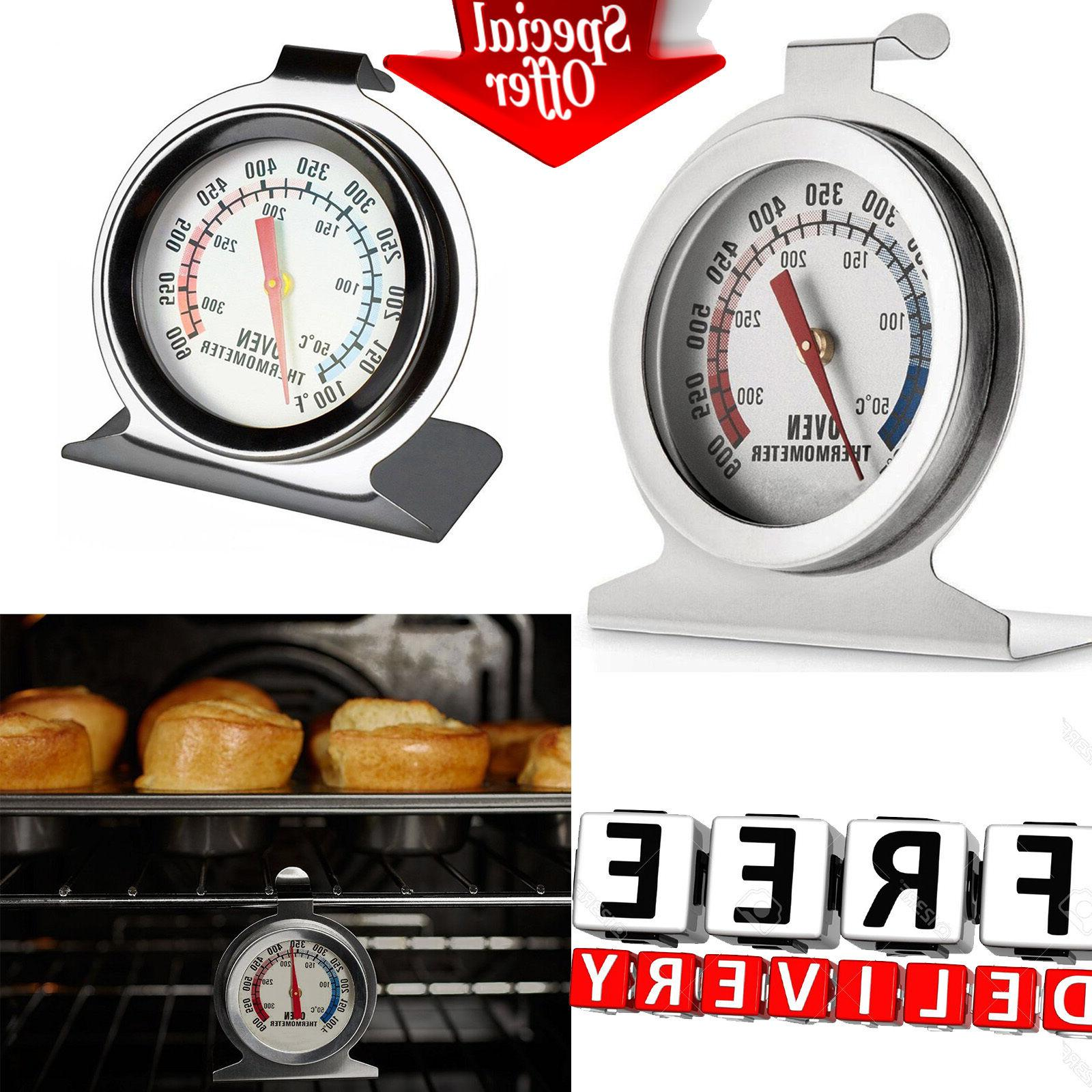 Grill Thermometer Stainless Steel Smoker Cooker Outdoor ...