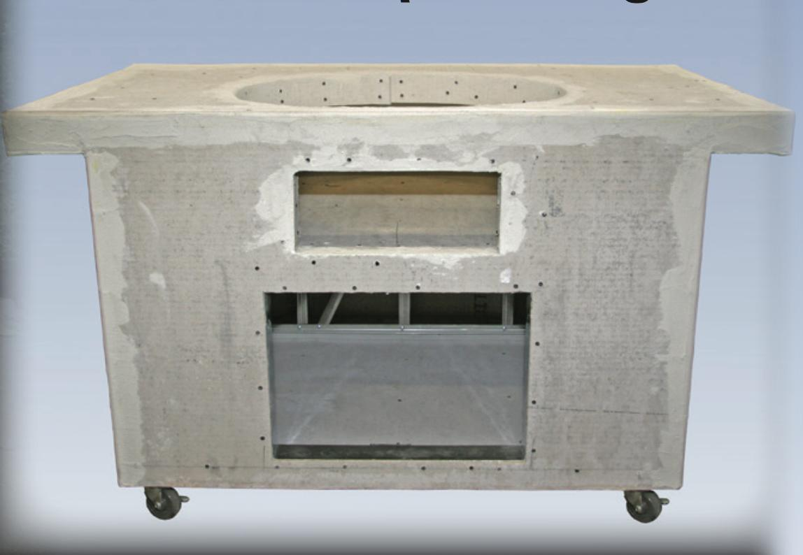 Primo Grills Portable for Primo Oval XL Unfinished