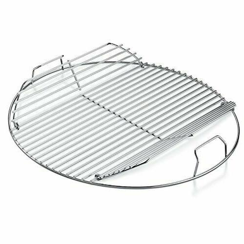 hinged cooking grate grills