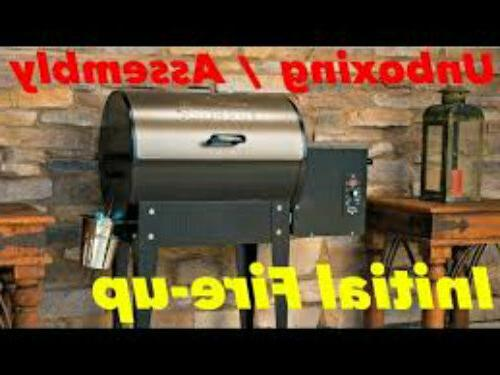 Pellet Grill Wood-Fired