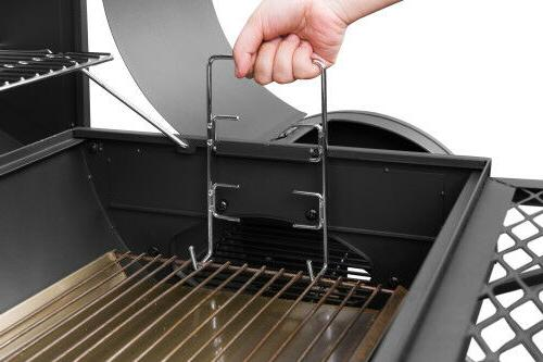 """Royal Gourmet 30"""" Charcoal Smoker CC1830F Cover Space"""